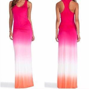 Young Fabulous & Broke Ombré Sunset Maxi Dress